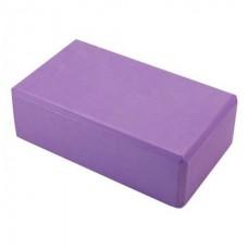 อิฐบล็อคโฟม บล็อกโยคะ Yoga Block (สีม่วง)