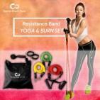ชุดยางยืดออกกำลังกาย 3 ระดับ Yoga - Burn Set