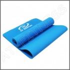 เสื่อโยคะ YOGA MAT TPE หนา 6 มิลลิเมตร สีน้ำเงิน มือหนึ่ง ส่งฟรี